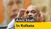 Amit Shah reaches Kolkata: To inaugurate Durga Puja pandal, address seminar on NRC today
