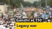 Gandhi at 150: BJP, Congress engage in legacy war