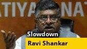 Watch: Ravi Shankar Prasad cites earnings of 3 blockbuster movies to dismiss economic slowdown