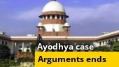 Ayodhya final hearing: Arguments conclude, SC reserves judgment
