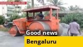 Good news: Techies pool in money to fix damaged road in Bengaluru