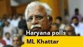 Manohar Lal Khattar seeks time to meet Haryana Governor to stake claim to form govt