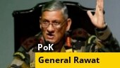 PoK is controlled by terrorists: General Bipin Rawat