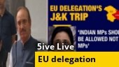 Political debate rages over EU delegation's Kashmir visit