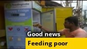 Good news: Feeding Bhubaneswar's needy and hungry through 'Happy Fridge'