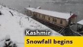 Higher reaches of Kashmir receive season's first snowfall