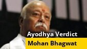 Ayodhya final verdict: RSS chief Mohan Bhagwat appeals for calm