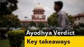 Ayodhya title dispute case verdict: Key takeaways