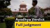 SC announces final Ayodhya verdict: Full 1045-page order accessed