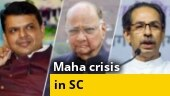 Stop Maha CM from taking decisions: Sena-NCP-Cong to SC