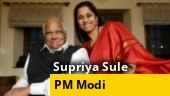 Sharad Pawar's daughter Supriya Sule confirms PM Modi offered her cabinet berth