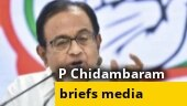 Full press conference: Day after coming out on bail, Chidambaram attacks Modi govt