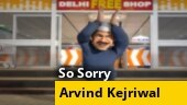 So Sorry: Arvind Kejriwal sings sasta bijli, free wifi and bus ride