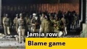 Blame game over Jamia row continues