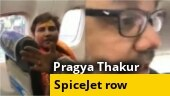 BJP MP Pragya Thakur pins blame on SpiceJet after throwing tantrum