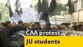 Jadavpur University students block Governor's car, show black flags