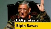 CAA protests: Row over Army chief Bipin Rawat's remark