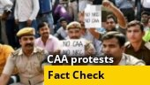 Fact Check: Are policemen protesting against CAA, NRC?