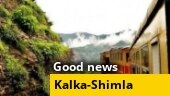 Good news: Glass-enclosed vistadome train on Kalka-Shimla route