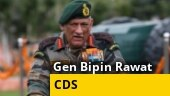General Bipin Rawat receives his farewell Guard of Honour as the Army Chief