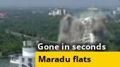 Watch: Maradu flats in Kerala brought down by controlled implosion