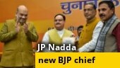 JP Nadda elected as new BJP chief, to take charge today