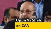 Opposition parties accept Amit Shah's challenge for debate on CAA