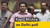 India vs Pakistan on February 8, says BJP leader Kapil Mishra on Delhi poll