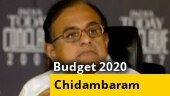Union Budget 2020: Watch what former FM P Chidambaram said about the budget