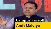 Campus Faceoff: Students grill Amit Malviya, Supriya Shrinate and Jasmine Shah