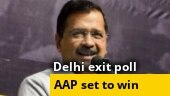 AAP set for landslide victory in Delhi with 59-68 seats: India Today-Axis exit poll