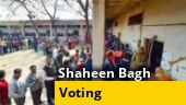 Men, women line up to vote till evening at protest-hit Shaheen Bagh, moderate voter turnout