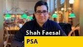 J&K: Ex-IAS officer Shah Faesal booked under PSA