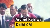 Arvind Kejriwal sworn in as Delhi CM, 6 other AAP ministers take oath