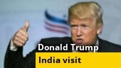 Ahead of visit, Donald Trump says big trade deal with India later