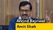 Arvind Kejriwal's first meeting with Amit Shah today after AAP's Delhi polls win