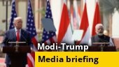Modi & Trump's full address at Hyderabad House: India, US ink 3 pacts