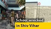 Delhi: Mob enters school using rope, wreaks devastation