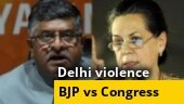 Politics over Delhi violence