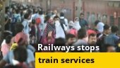 All passenger trains suspended across India till March 31