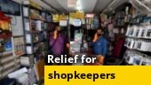 Ground report: Few shutters of shops selling non-essentials open after MHA order