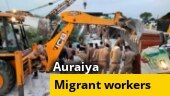 2 SHOs suspended after 24 migrant workers killed in Uttar Pradesh road accident