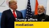 India-China standoff: India says no recent Trump-Modi talk