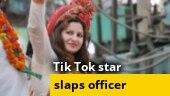 BJP leader, TikTok star Sonali Phogat slaps officer, video goes viral
