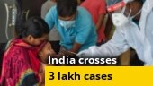With 11,458 fresh Covid-19 cases in 24 hours, India crosses 3-lakh mark
