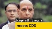 Defence Minister Rajnath Singh discusses India-China border clash with top Army brass