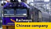 Railways terminates contract with Chinese engineering company