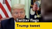 Twitter labels Donald Trump's tweet showing doctored video as 'manipulated media'