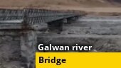 Army completes 60-meter-long bridge over Galwan river