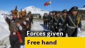 Government gives free hand to forces, nod for forces to buy weapons